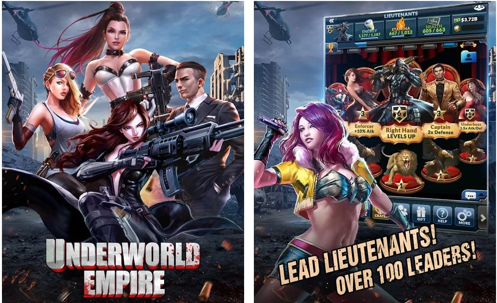 Underworld Empire app