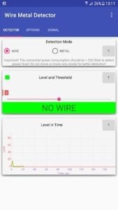 Wire Metal Detector