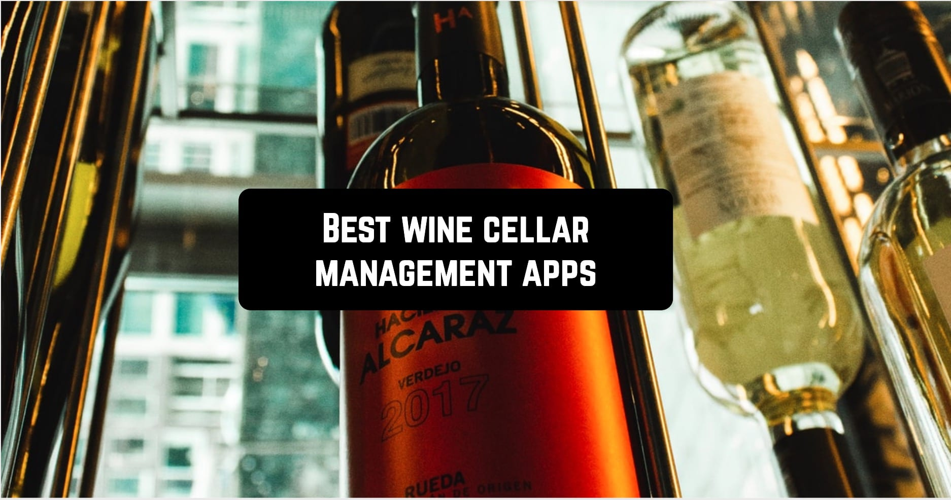 Best wine cellar management apps