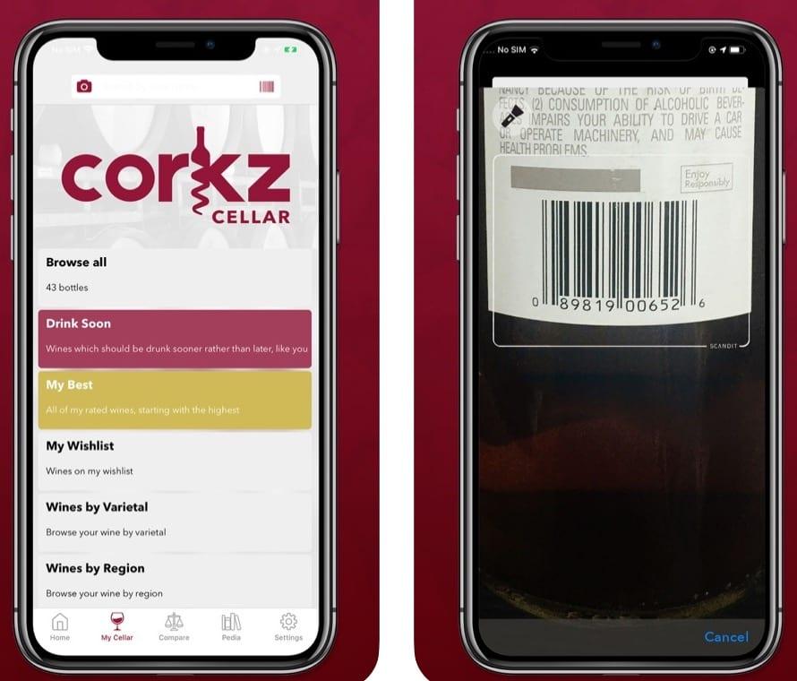 Corkz app