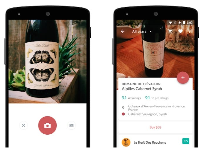 Delectable - Scan & Rate Wine app