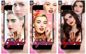 Eyebrow Editor App