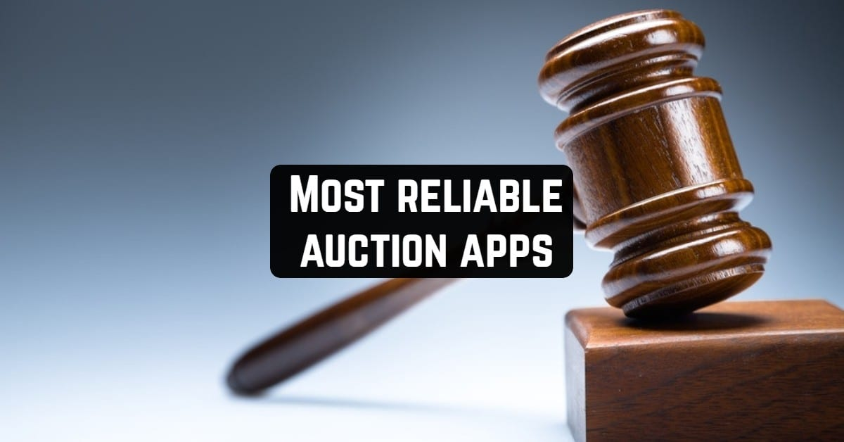 Most reliable auction apps