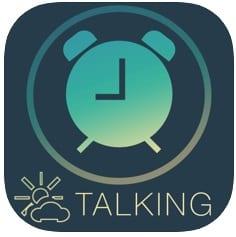Talking Weather alarm clock