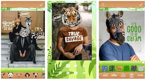 Animal Face Photo App