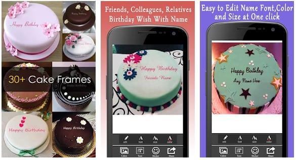 Name Birthday Cakes (Offline)