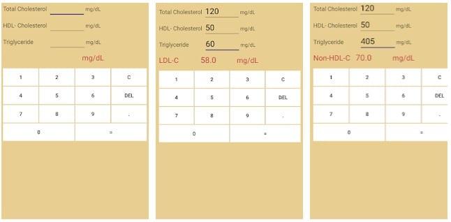 LDL-Cholesterol calculator