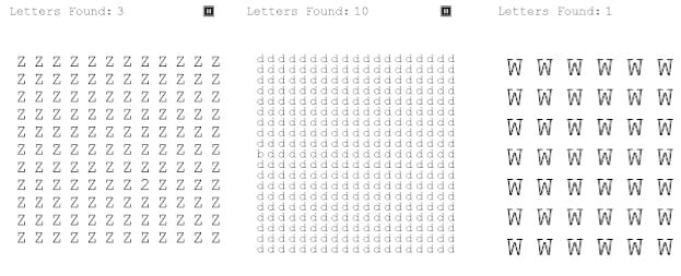 The Impossible Letter Game