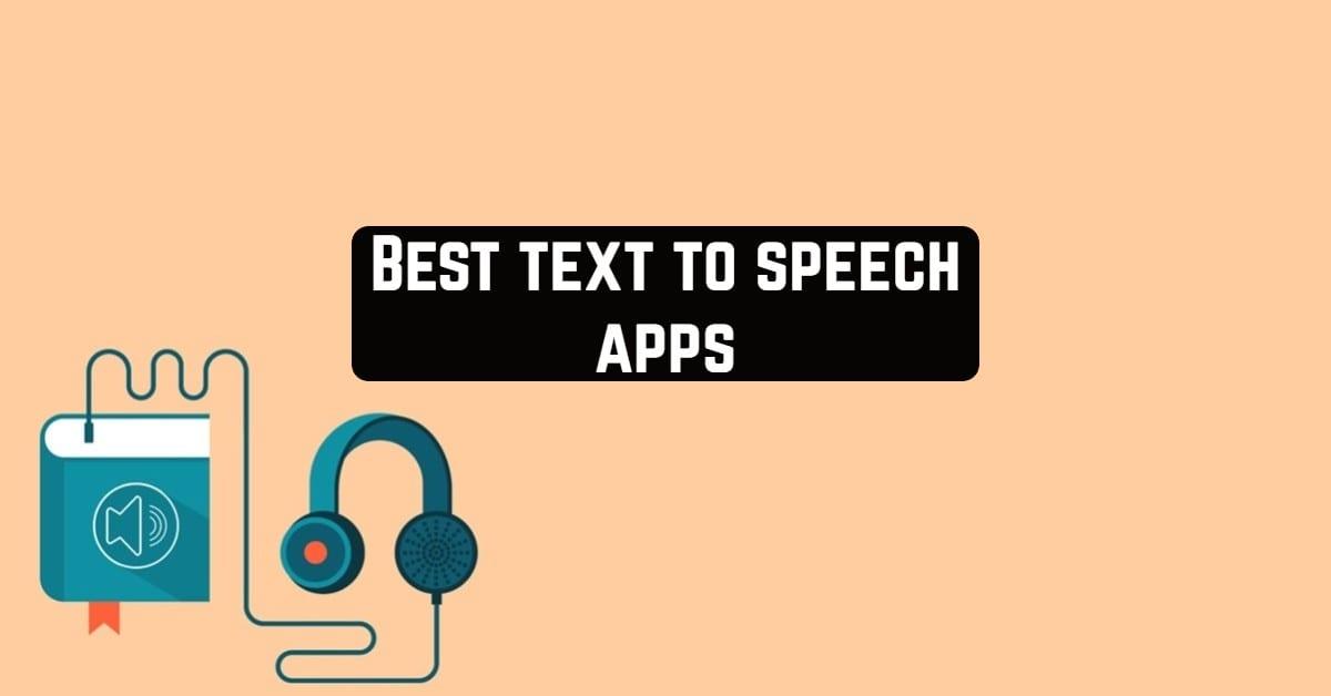 Best Text to Speech Apps