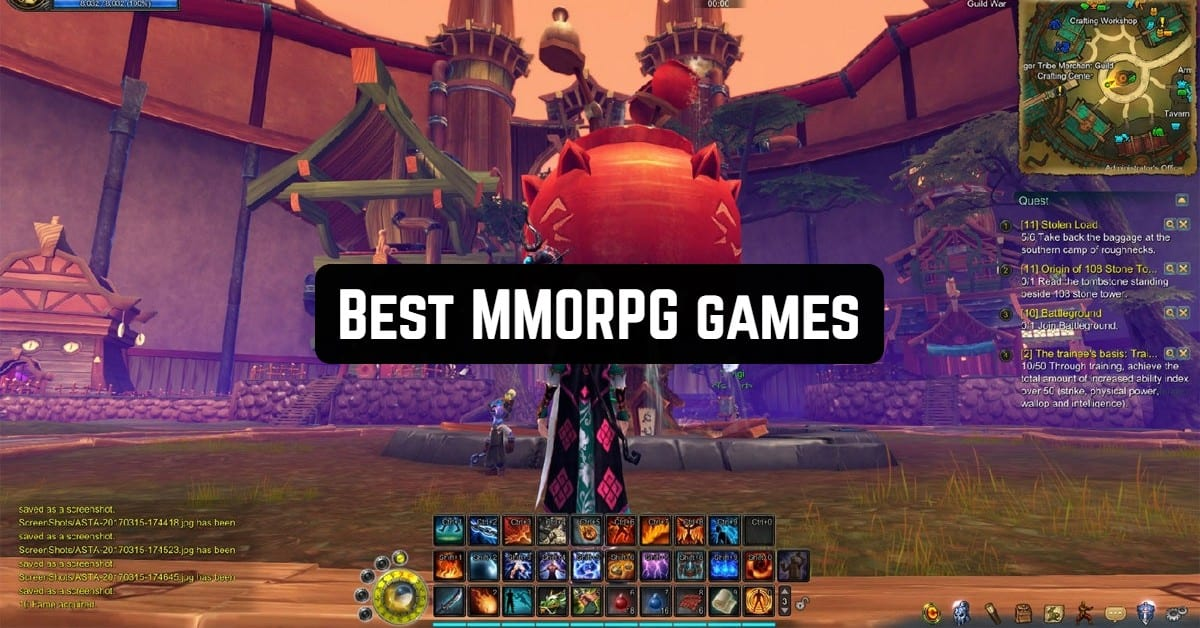 Best MMORPG Games