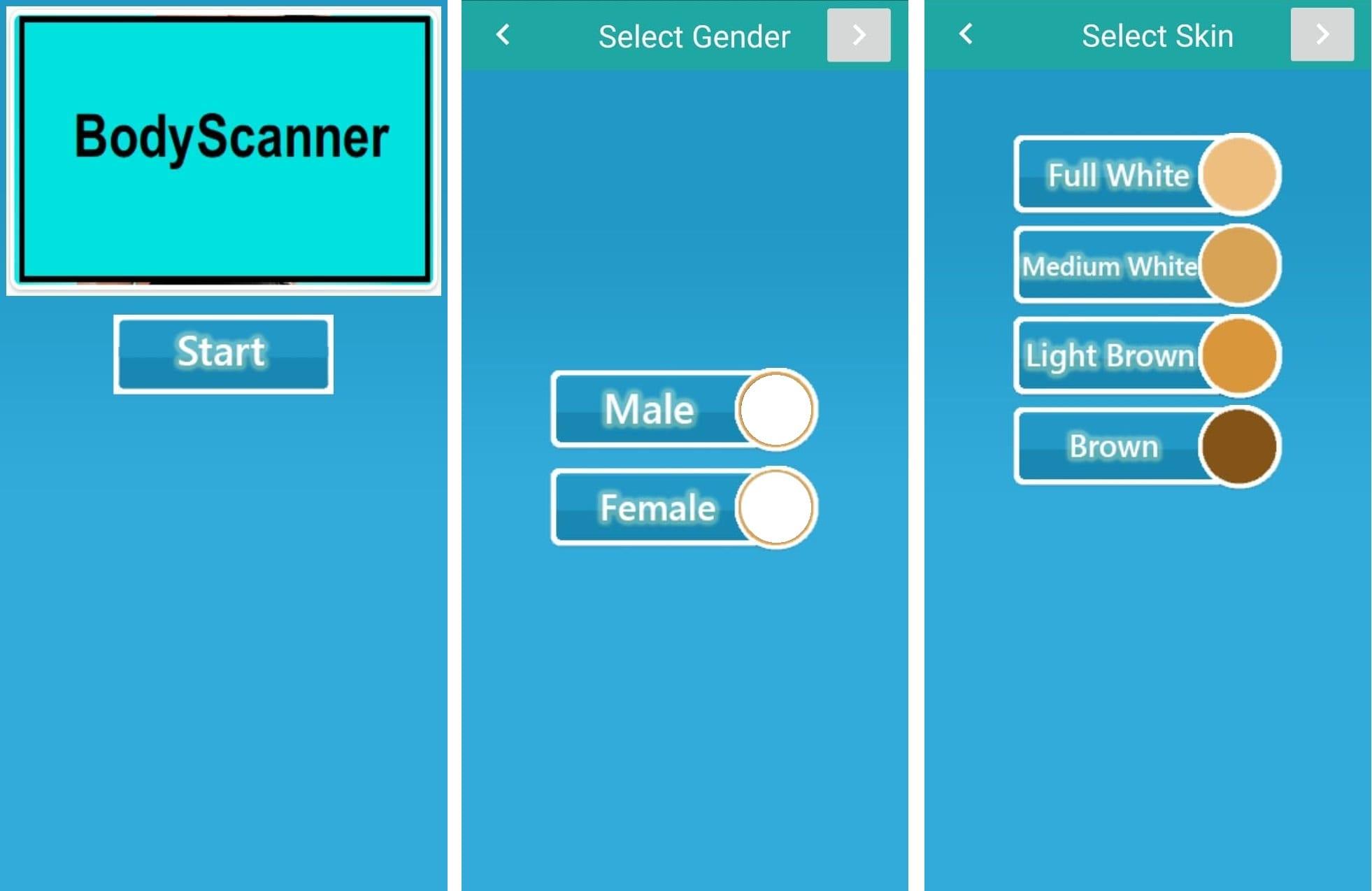 Girls cloth remover Body scanner 2020