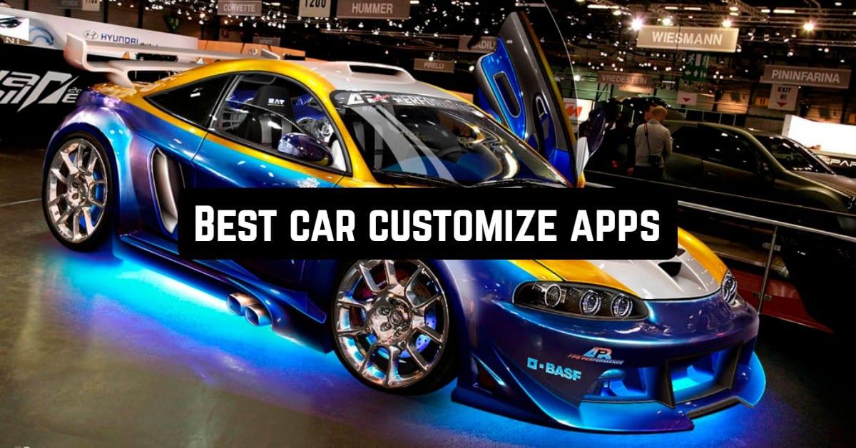 Best Car Customize Apps