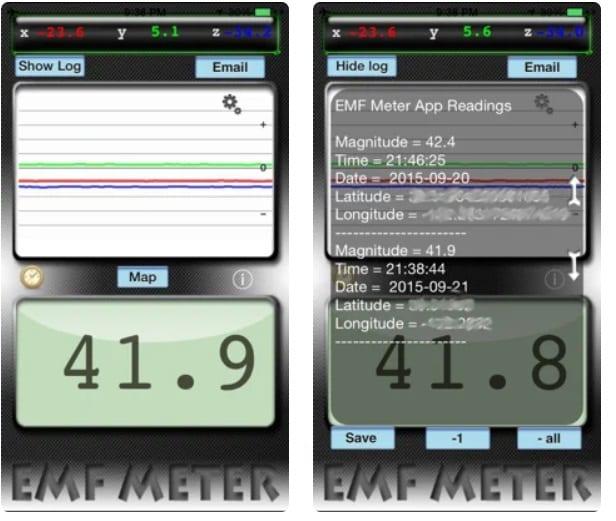 EMF Meter Free Utility