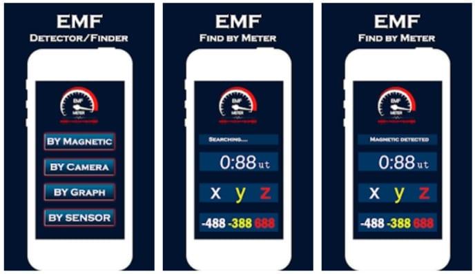 EMF Detector Magnetic Field