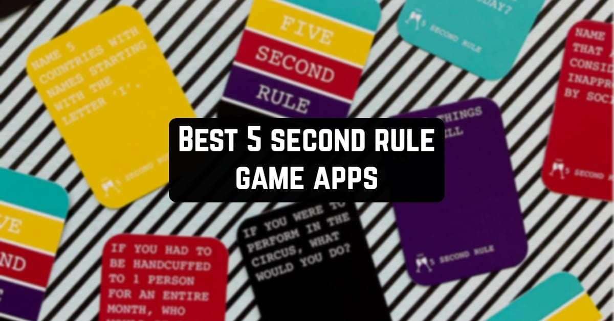 Best 5 Second Rule Game Apps