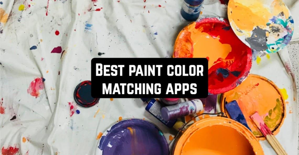 Best Paint Color Matching Apps