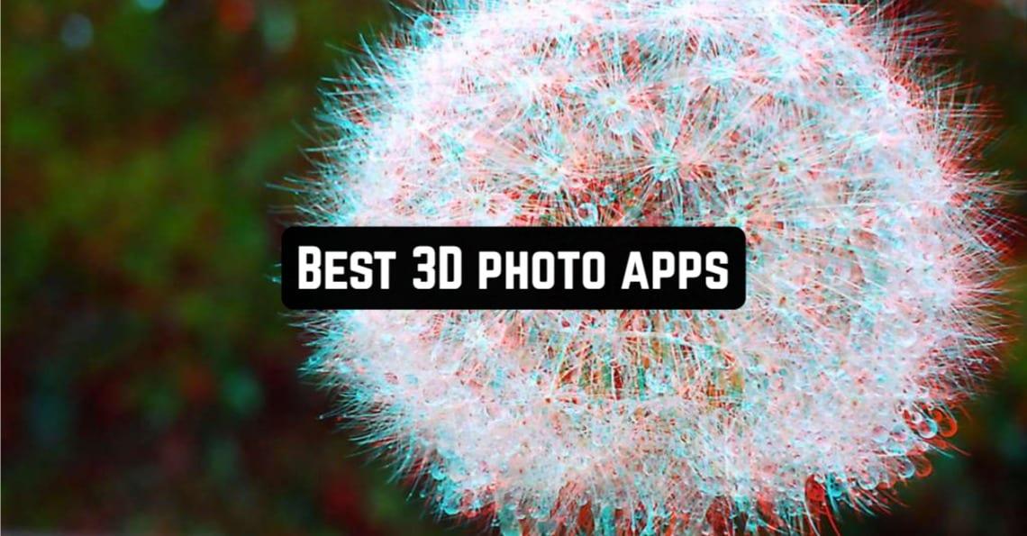 Best 3D Photo Apps