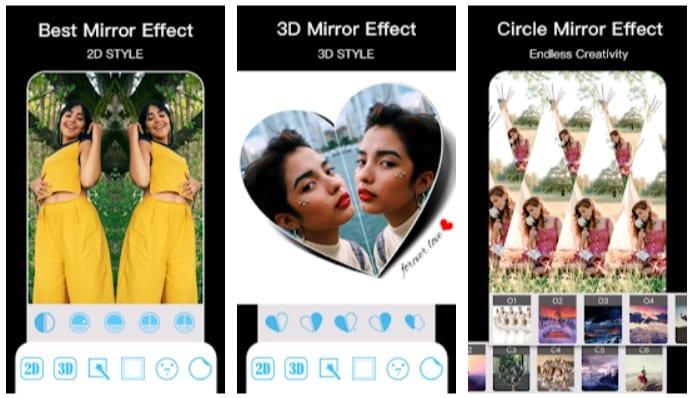 Photo Mirror App