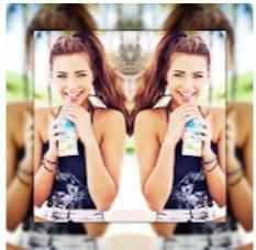 Square Mirror Photo