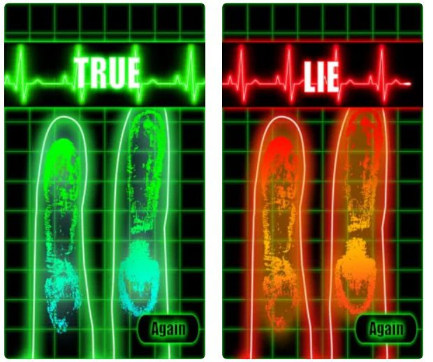 Truth and Lie Detector Scanner