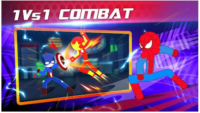 Super Stickman Heroes Fight