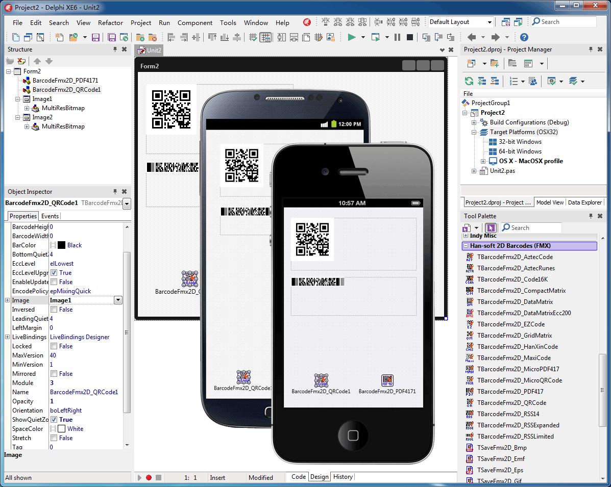 2D Barcode FMX Components1