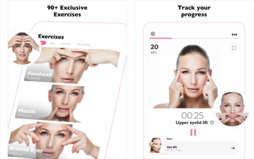 AnyDay Face Yoga & Exercises