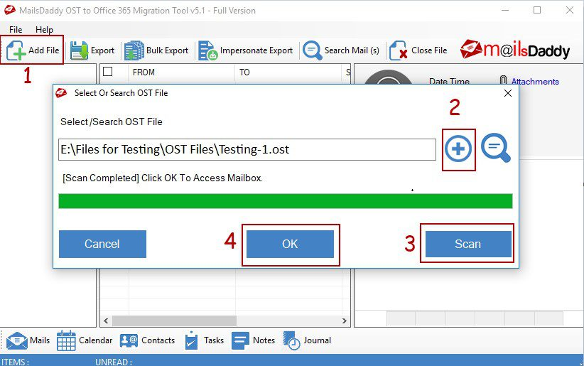 OST to Office 365 Migration Tool2
